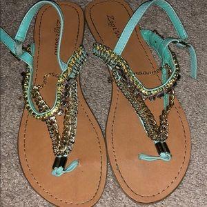 Blinged sandals!